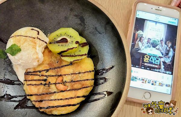 高雄美食Duo café韓風咖啡館,尹食堂糖餅甜點登場
