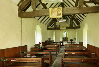 Photo: Broadstone Church interior.