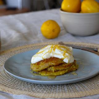 Lemony Quinoa Hot Cakes.
