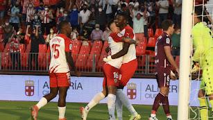 El Almería vence por tres a uno a la Real Sociedad B.