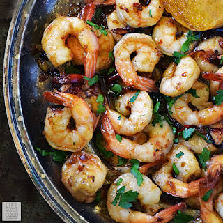 Spanish Garlic Shrimp.
