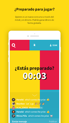 Quizers - Live Trivia  captures d'écran 2