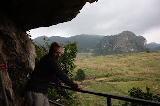 Photo: Day 244 - Caves of the Pathet Lao Politburo - View from the Artillery Cave
