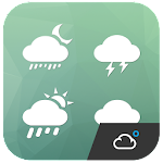 Simple Clean Weather Iconset Icon