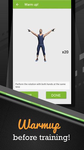 100 Push-ups workout screenshots 3