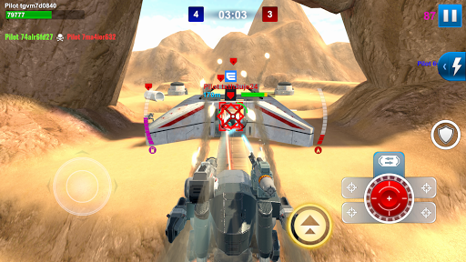 Screenshot for Mech Wars: Multiplayer Robots Battle in United States Play Store