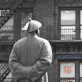 The Chinese Reference by Joatan Berbel - Buildings & Architecture Statues & Monuments ( cultural heritage, statue, architectural detail, artistic objects, chinese )