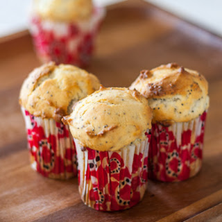 Lemon Poppy Seeds Muffins.