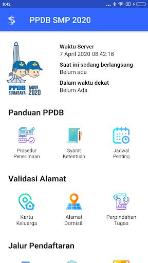 PPDB SMP Surabaya  screenshots 2