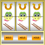Slot Machine: Snakes and Ladders. Casino Slots. Icon