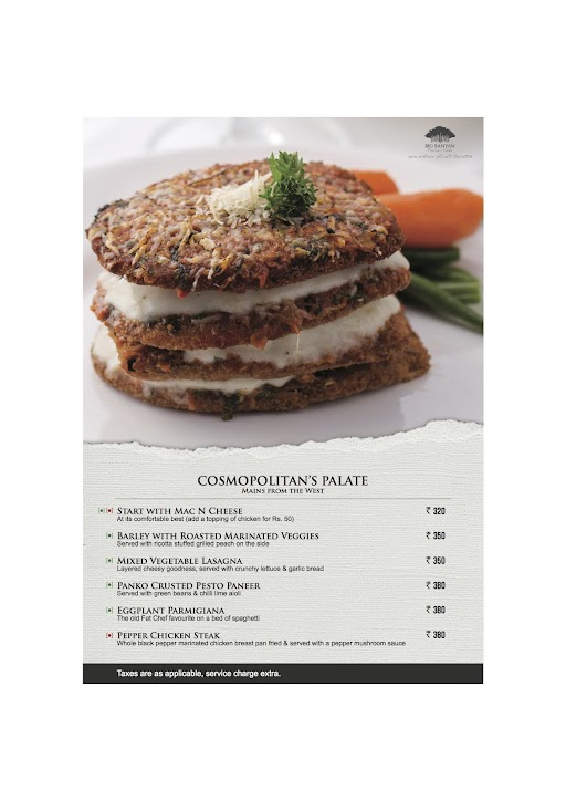 The Fat Chef menu 7