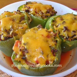 Pasta Stuffed Green Peppers Recipes