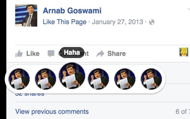 Arnab Goswami Reactions
