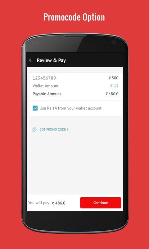 Online recharge app download