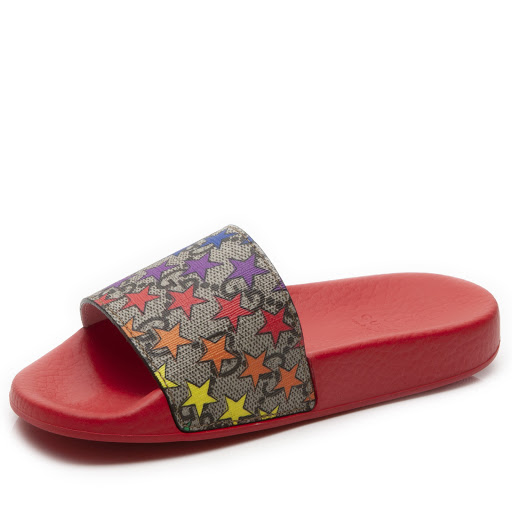 Thumbnail images of Gucci Rainbow Star Slide