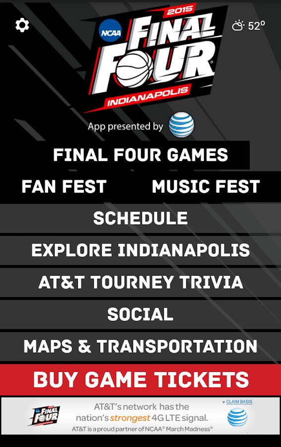 NCAA® FINAL FOUR® INDIANAPOLIS - screenshot