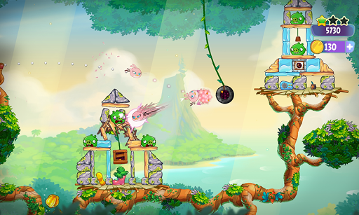 Angry Birds Slingshot Stella screenshot 7
