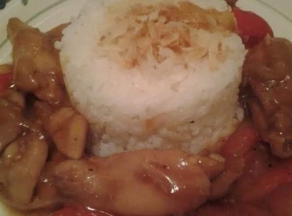 Coconut Rice. Recipe