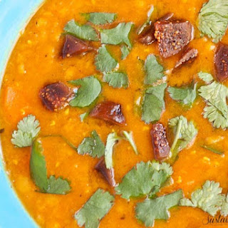 Ayurvedic Red Lentil Soup.
