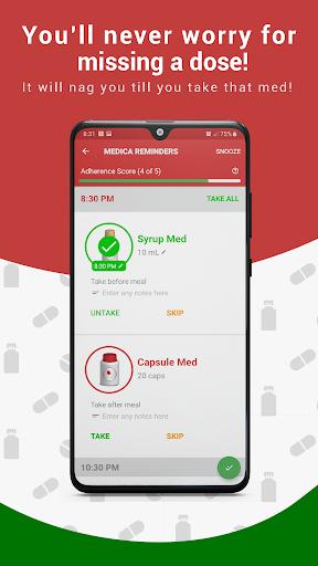 Medica: Medication Reminder, Pill Tracker & Refill Apk 1