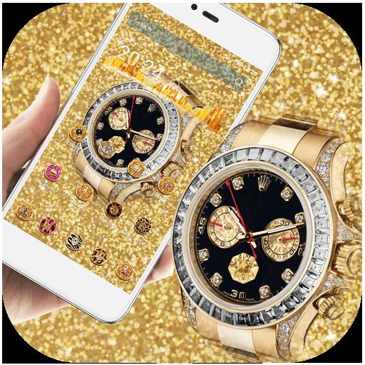 Gold Glitter HD Watch