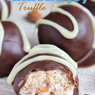 Homemade Almond Joy Truffles