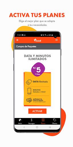Mi Mas App screenshot 3