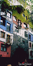 Photo: 18 mei. Wenen. Hundertwasserhaus.