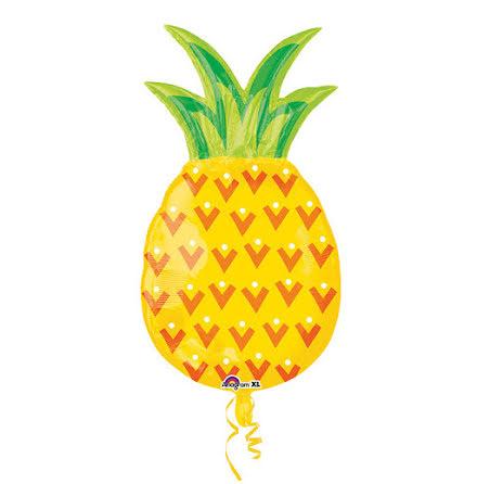 Folieballong, ananas