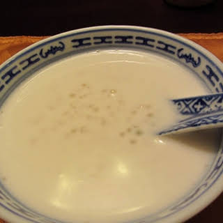 Home Made Chinese Coconut Tapioca Dessert.