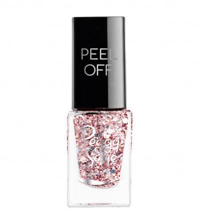 Nagellack peel off rose glitter - 5ml