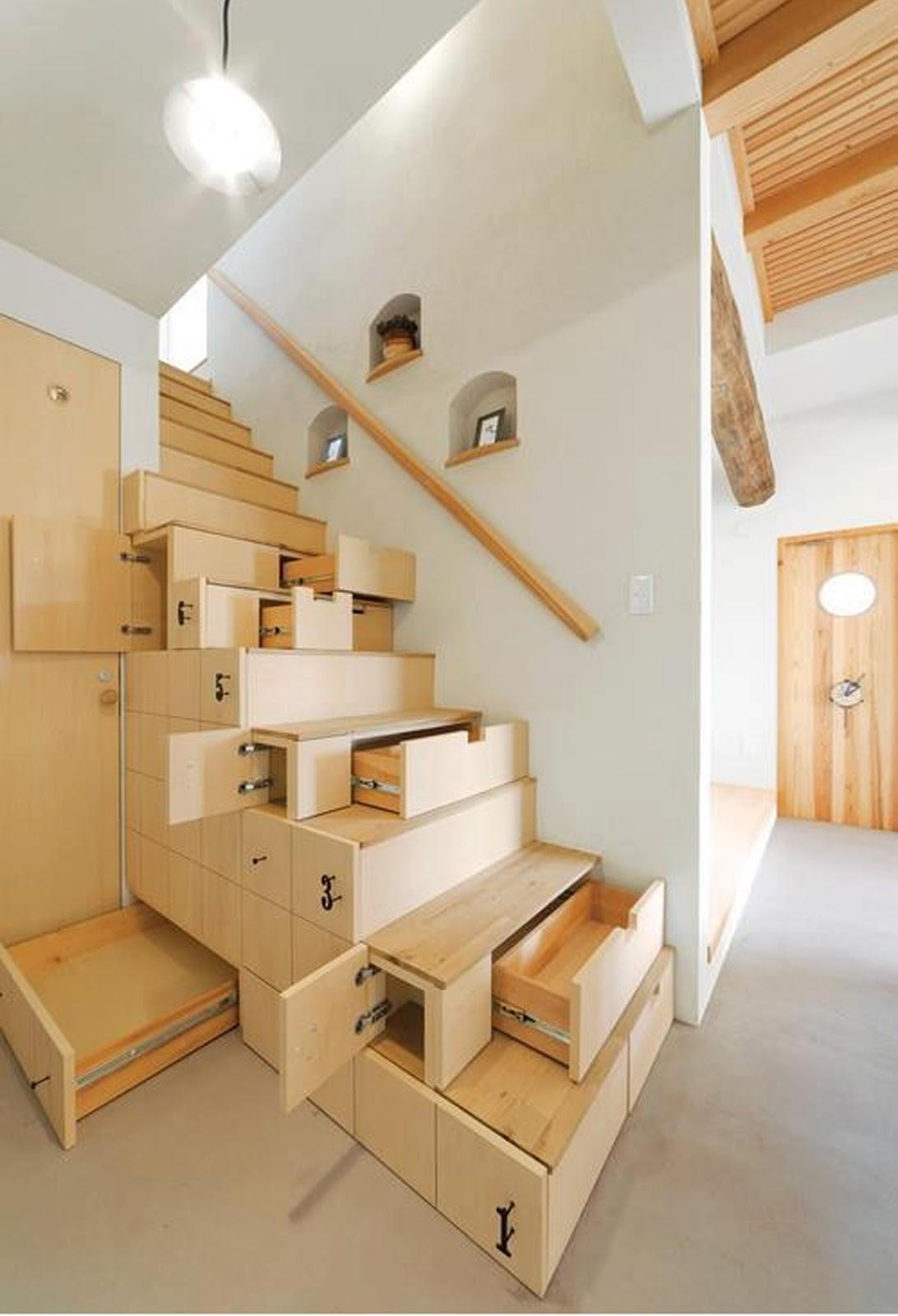 Furniture Portable untuk Rumah Minimalis - source : Homesthetics.net