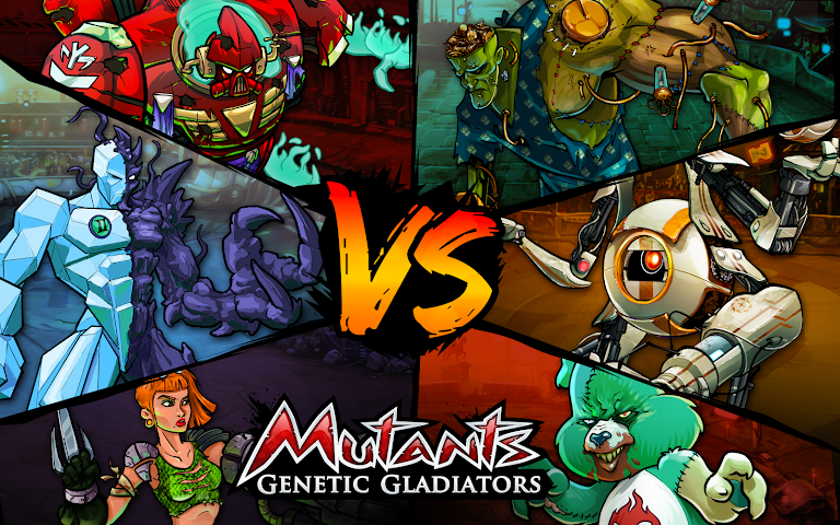 android Mutants: Genetic Gladiators Screenshot 0