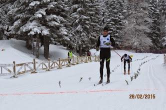 Photo: Christophe Chaix, second, du SC Areches