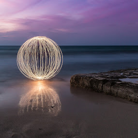 Light Painting by Walid Shahin - Abstract Light Painting