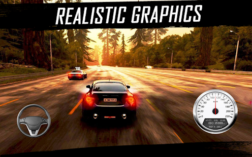 Real Highway Rivals Drift Racing Car Simulator 3D - náhled