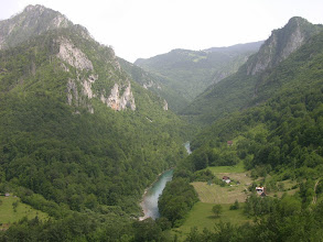 Photo: Tara Canyon second (longest / deepest / something like that) in Europe