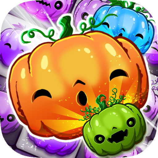 Halloween Swipe - Carved Pumpkin Match 3 Puzzle (game)