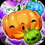 Halloween Swipe - Carved Pumpkin Match 3 Puzzle