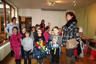 Photo: Návšteva detí zo ZŠ G. Haina