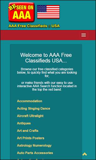 AAA Free Classifieds :: US