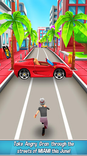Angry Gran Run - Running Game APK MOD screenshots 1