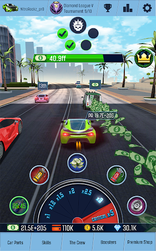 Télécharger Idle Racing GO: Clicker Tycoon & Tap Race Manager apk mod screenshots 3
