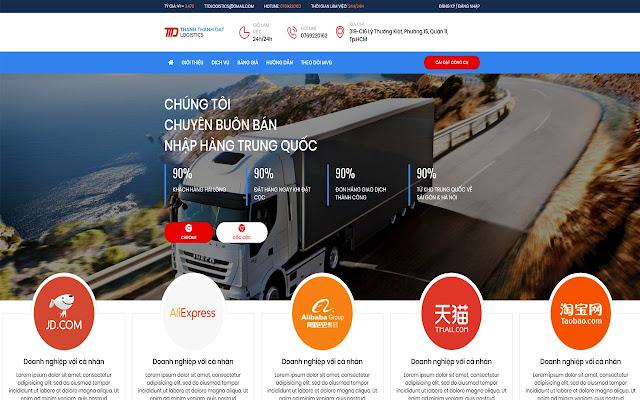 Công Cụ Đặt Hàng Của TTD Logistics