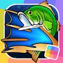 Flick Fishing: Catch Big Fish! Realistic Simulator icon