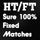 Download HT/FT Sure Fixed Matches - RealTime 100% Sure For PC Windows and Mac