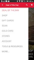 Screenshot of GNC