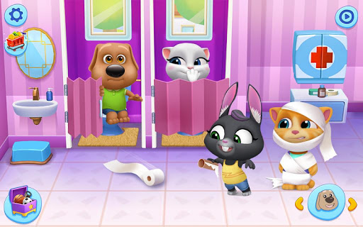 My Talking Tom Friends screenshots 16