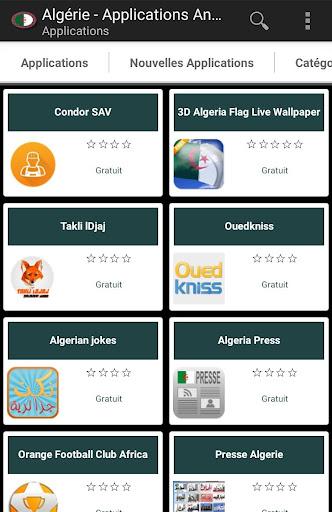 Applications algériens