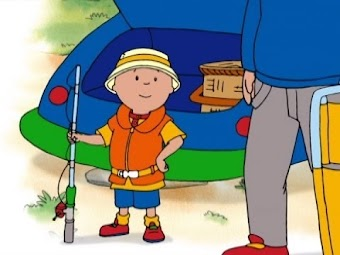 Caillou's Water Park/Gone Fishing/The Water Goes 'Round/Caillou's Test Drive/A Very Good Swimmer!
